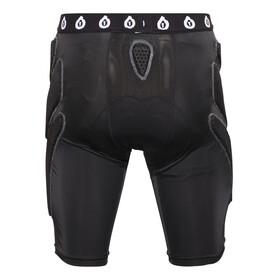 SixSixOne Exo II Short with Pad black